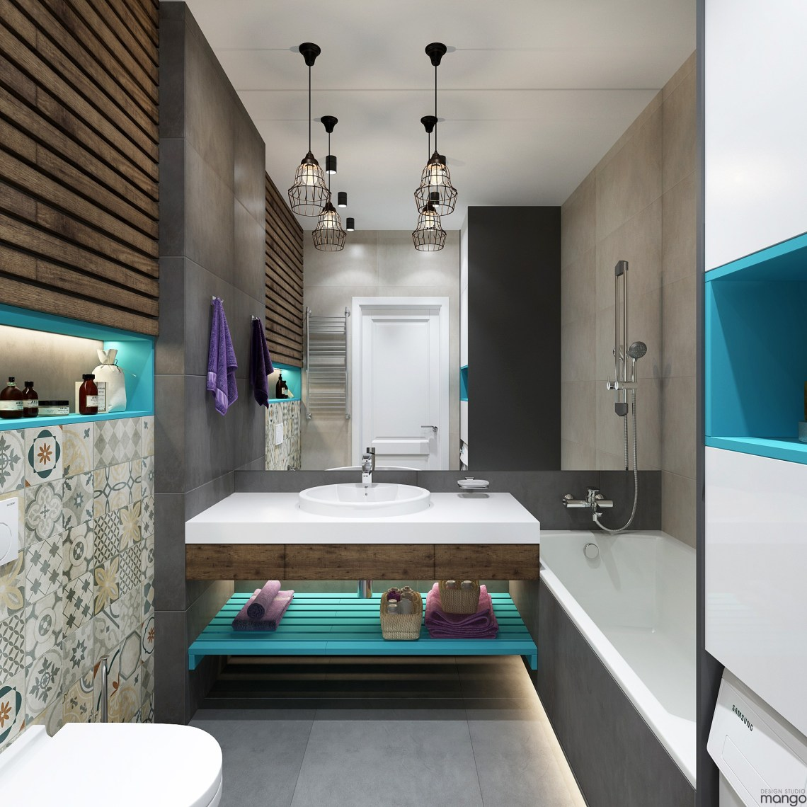 Modern Small Bathroom Designs Combined With Variety of ...
