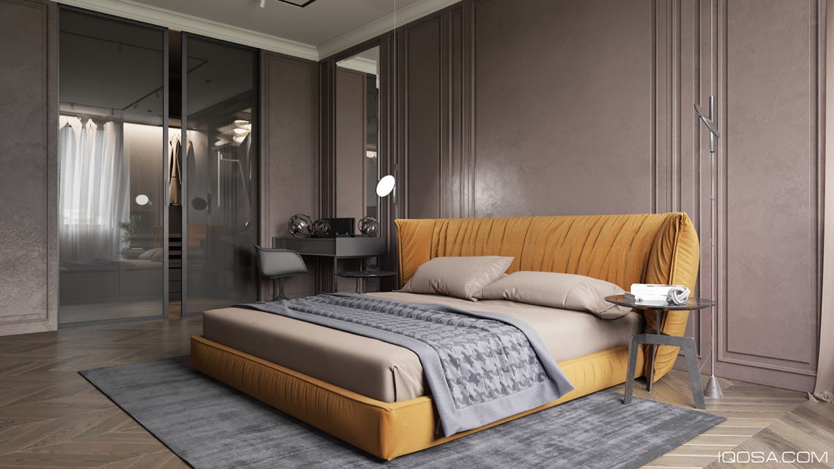 Types Of Trendy Bedrooms With A Fashionable Concept Decor Brings A Serenity Impression