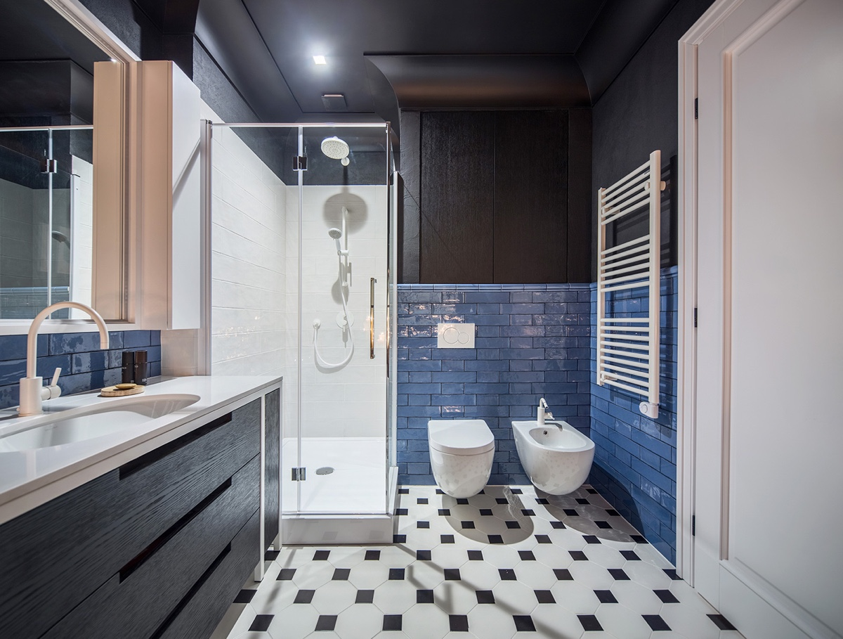 Outstanding Bathroom Designs With Unique And Cute Pattern