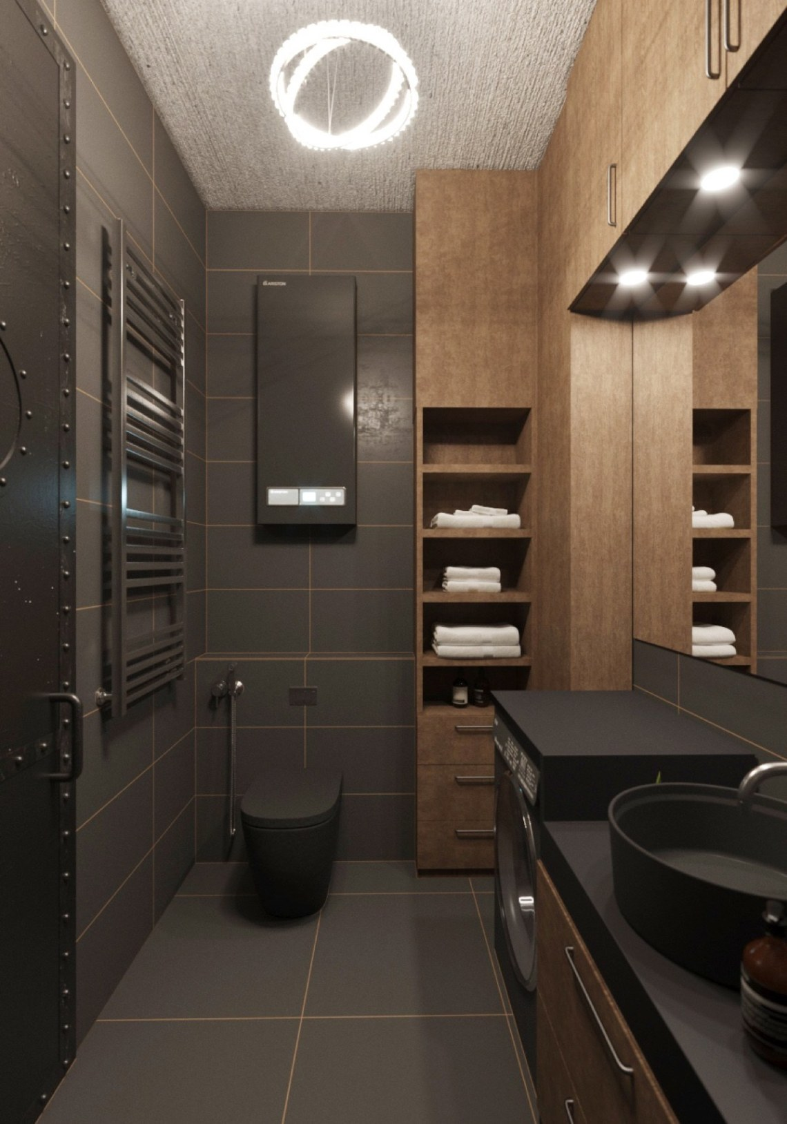 Chic Small Studio Apartment Use a Space Splendidly To Make ...