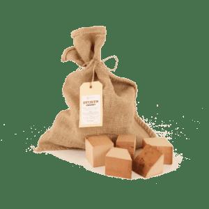 Beuken Rookhout Chunks 1kg voorkant met los