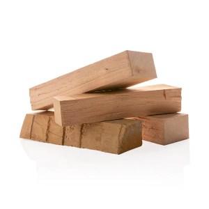 Smoker wood rookhout