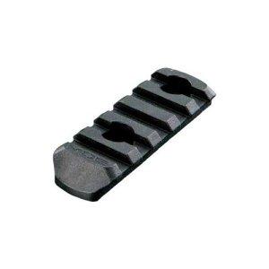 Magpul MAG406-BLK MOE Polymer Rail Section, 5-Slot, Black