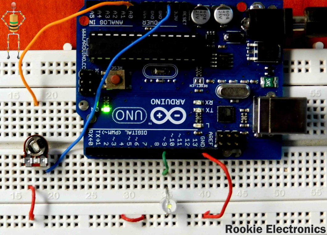 Arduino Dc Motor Pwm Code For Beginners Controlling A 12v Fan With An Using Rookie Electronics
