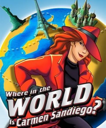 3. Find Carmen Sandiego. This will be hard. She's been evading capture for years. Good luck!