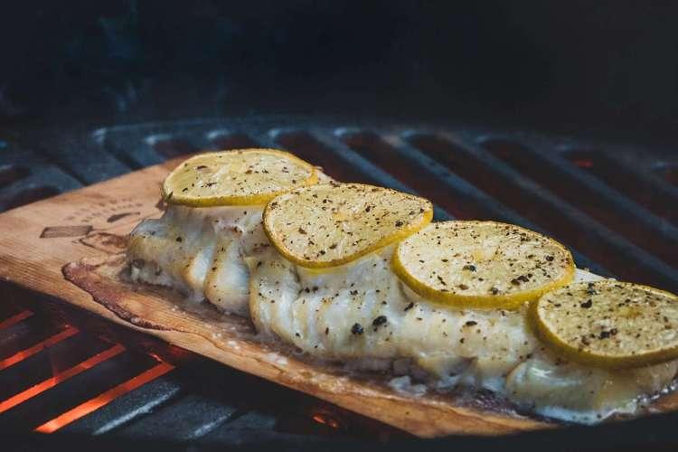 Recept | Kabeljauw van ceder rookplank | Rookplankje.nl