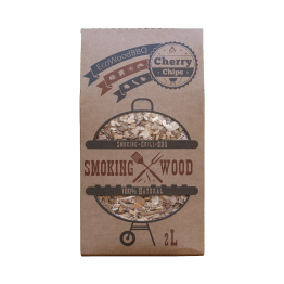 Cherry Wood Chips EcoWoodBBQ | Rookplankje.nl