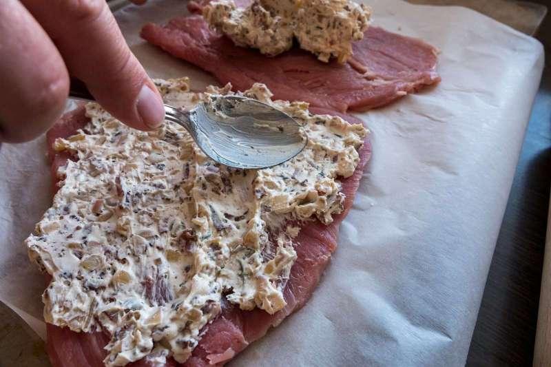 Recept | Gevulde Varkenshaas gerookt op appelhout | Besmeren | Rookplankje.nl