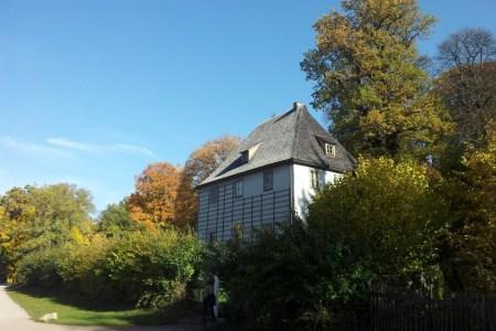 goethe gartenhaus weimar herbst park ilm ilmpark
