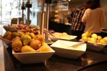 Noch mehr Früchte und Quark.