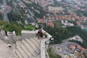 Festungsmauer San Marino