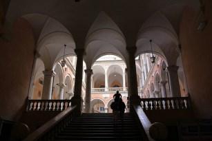 Die Gewölbe in den Palästen in Genua sind von beeindruckender Größe.
