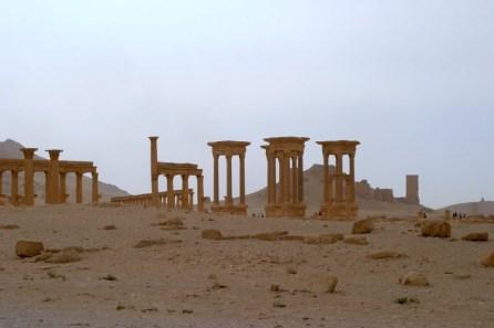 Palmyra Säulen Syrien