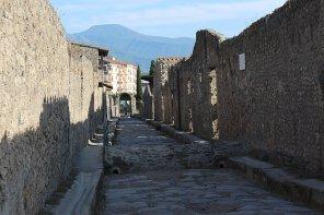 Straße Pompeji
