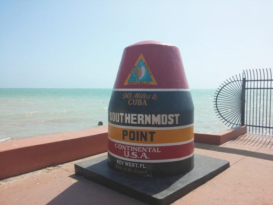 Der südlichste Punkt der USA in Key West.