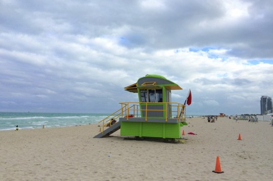 Lifeguard Tower Miami South Beach