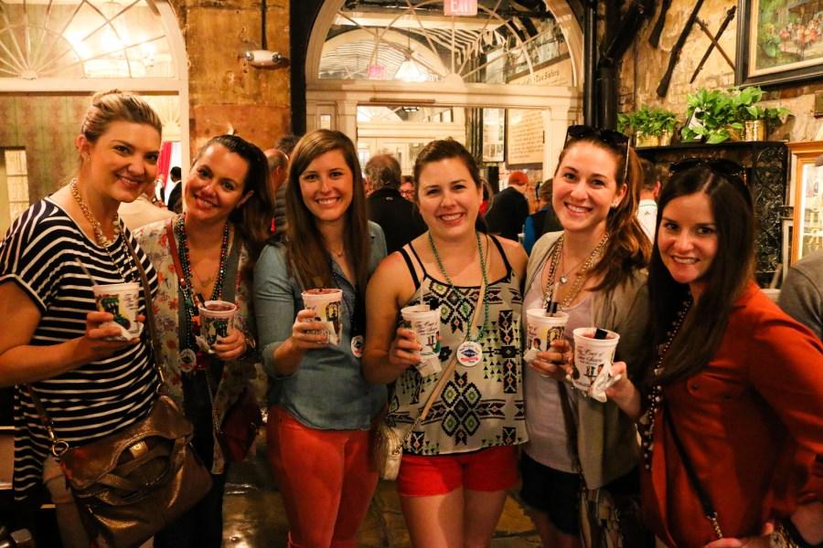 Teilnehmer der Cocktail-Tour: Oft Junggesellenabschiede und Kulinarikfreunde.