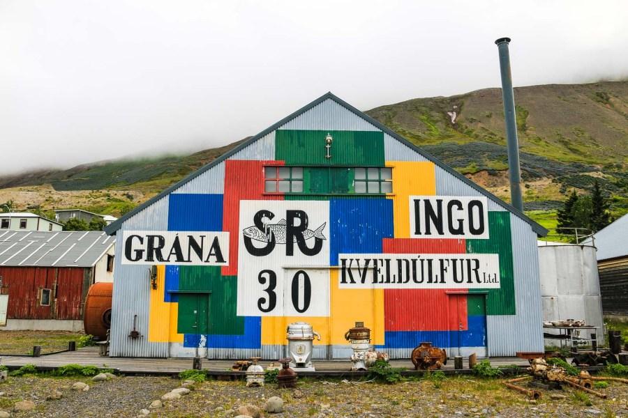 Das Grana in Siglufjörður gehört zum Hering-Museum.