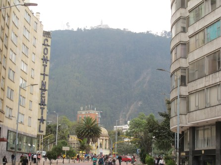 Ansicht von Bogota