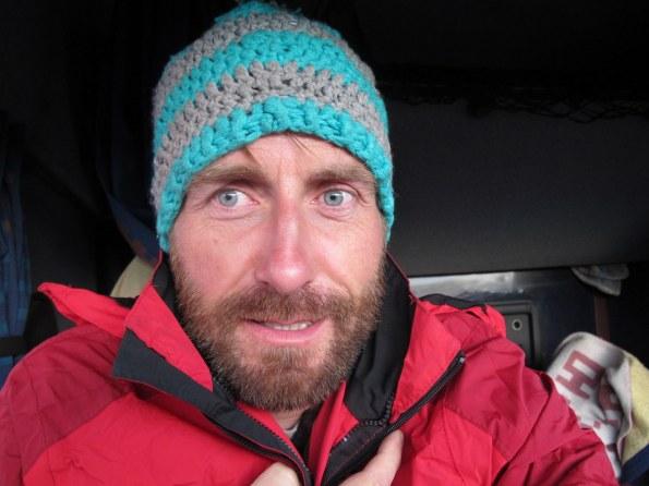 Weit getragen, endlich genutzt: meine Mütze aus Eisleben.
