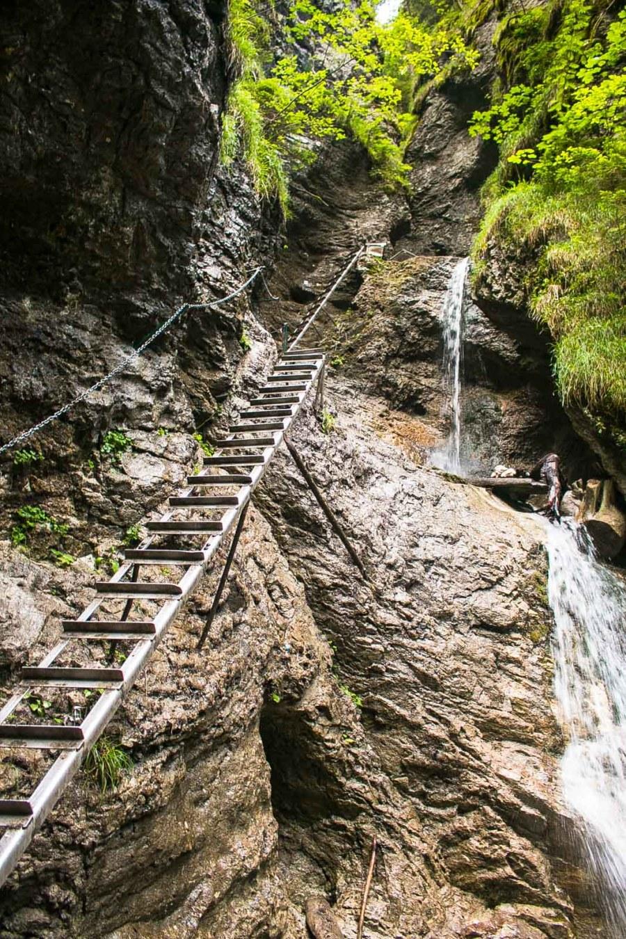 Slovensky Raj Wasserfall