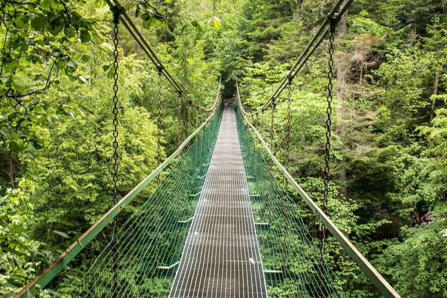 Hängebrücke Slovensky Raj