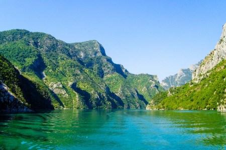 Albanien Flussfahrt