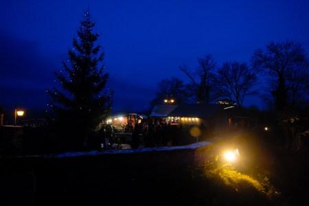 Weihnachtsbaum Wartburg Eisenach