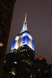 Empire State Building on Hannukah