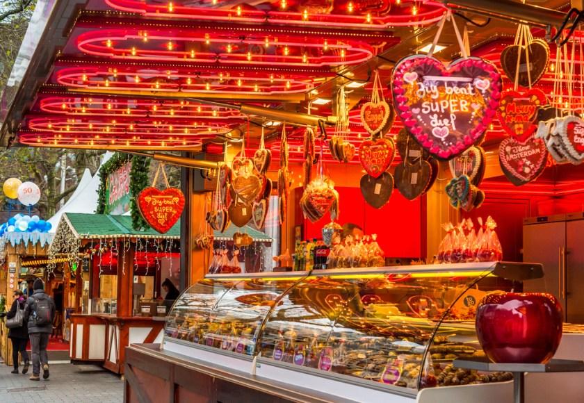 christmas market amsterdam