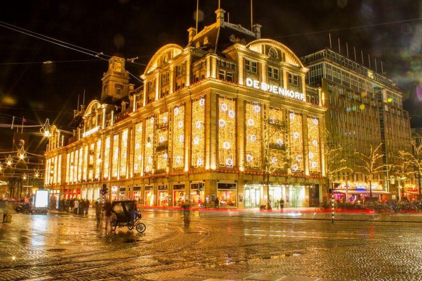 luces de Navidad en Amsterdam