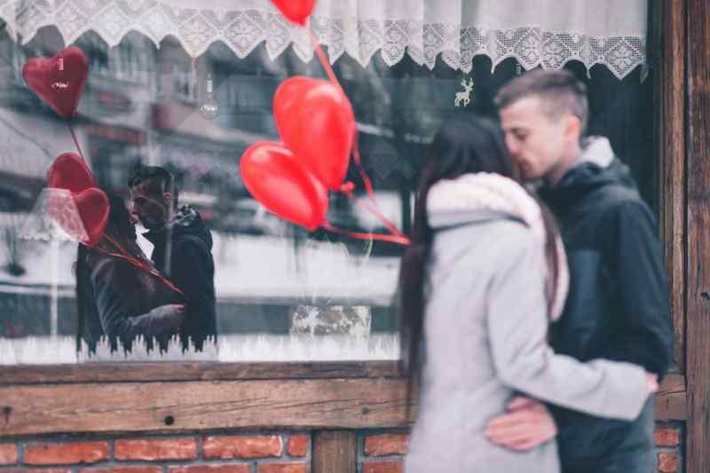 Beso de San Valentín