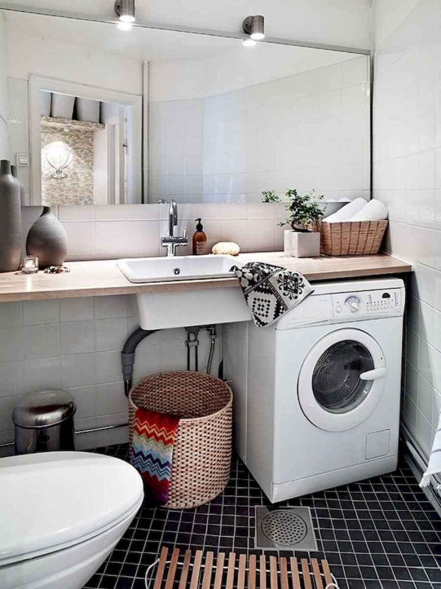 20+ beautiful scandinavian laundry room design ideas for your home (3)