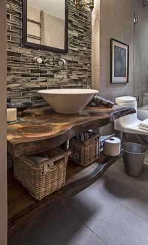 30+ decorative rustic storage projects for your bathroom (12)