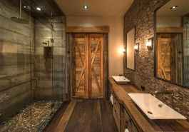30+ decorative rustic storage projects for your bathroom (20)