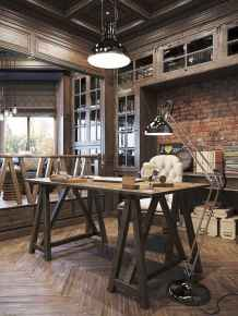 30 home office space with rustic design (11)