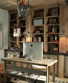 30 home office space with rustic design (14)