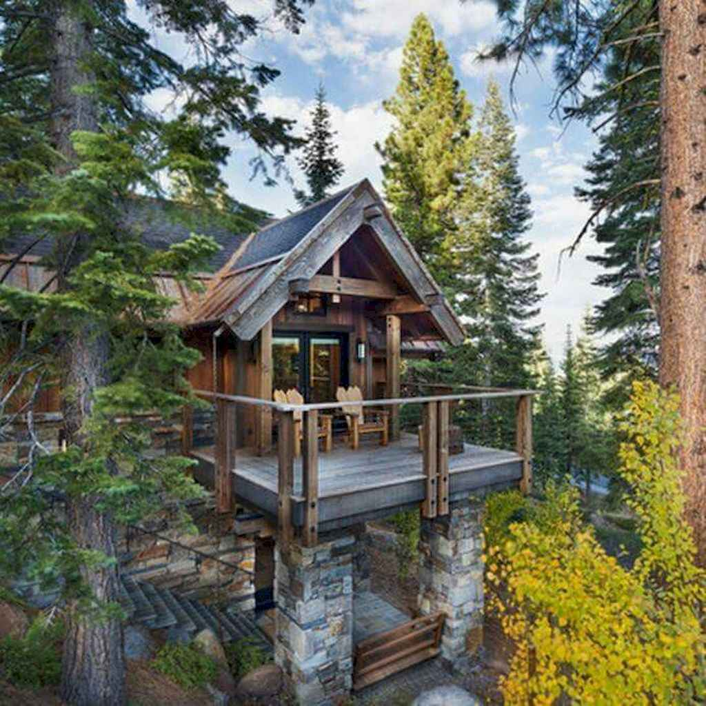 44 rustic balcony decor ideas to show off this season (23)
