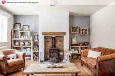 45 amazing rustic farmhouse style living room design ideas (34)