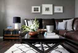 45 amazing rustic farmhouse style living room design ideas (44)