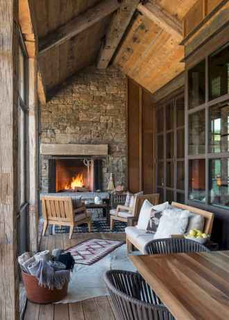 50+ most amazing rustic fireplace designs ever (18)