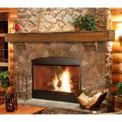 50+ most amazing rustic fireplace designs ever (22)