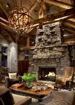 50+ most amazing rustic fireplace designs ever (59)