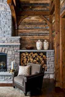50+ most amazing rustic fireplace designs ever (6)