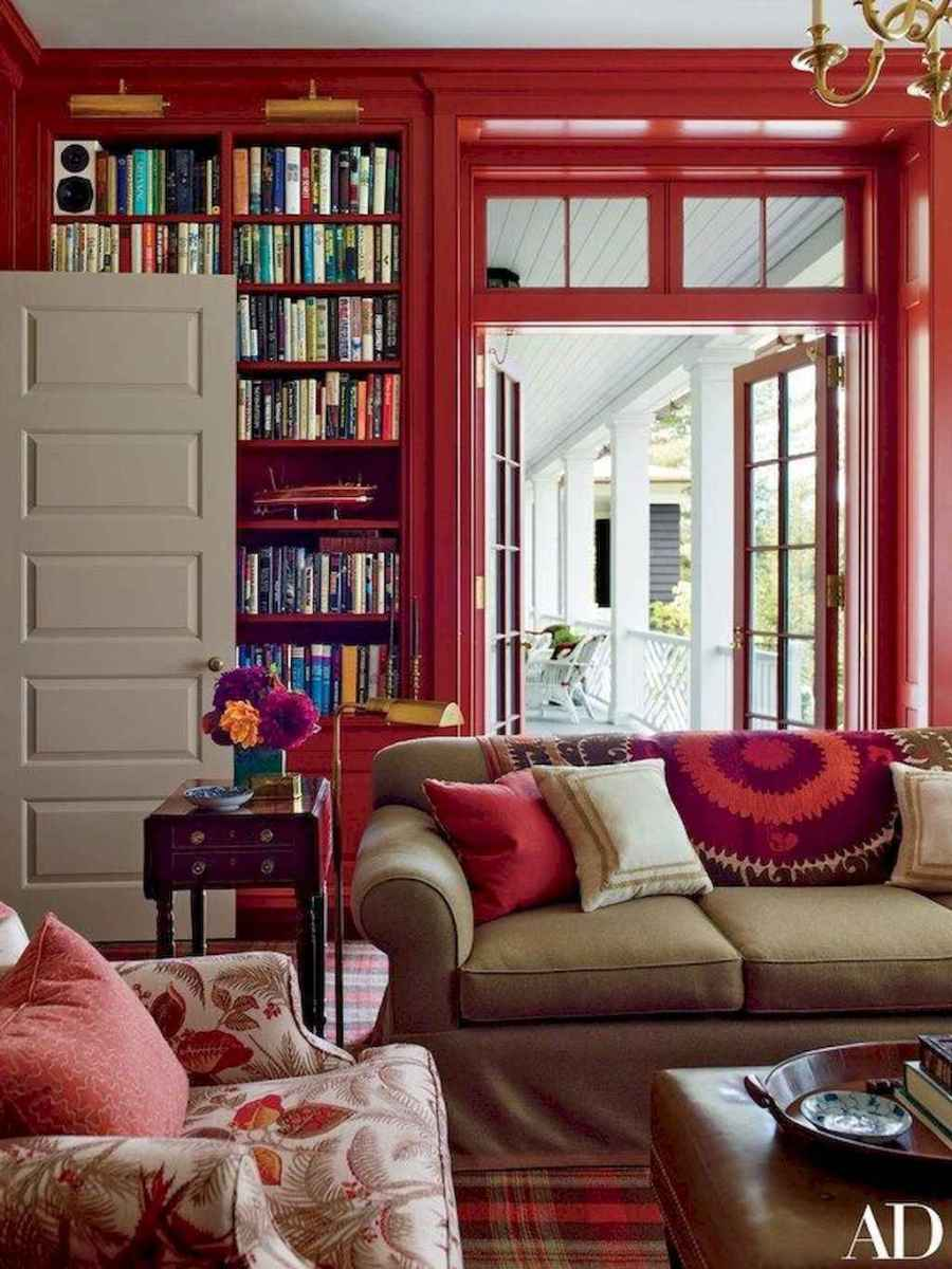 60 amazing eclectic design ideas for your library room (14)