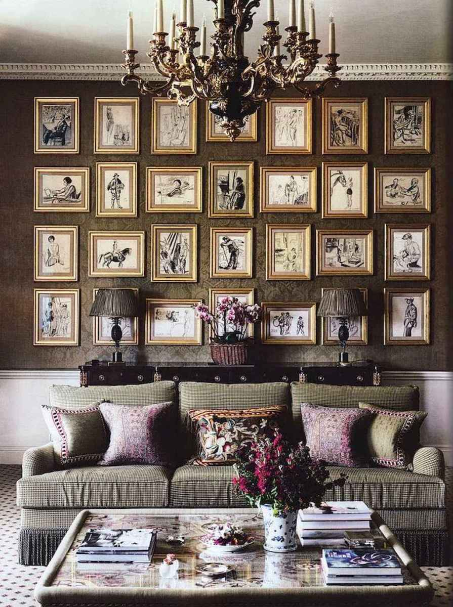 60 amazing eclectic design ideas for your library room (19)