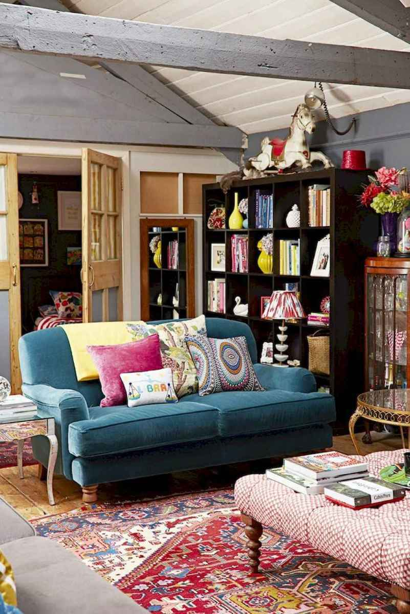 60 amazing eclectic design ideas for your library room (30)