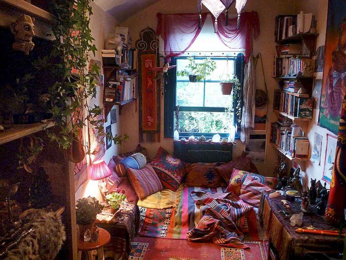 60 amazing eclectic design ideas for your library room (32)
