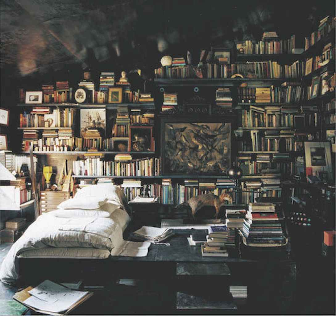 60 amazing eclectic design ideas for your library room (7)