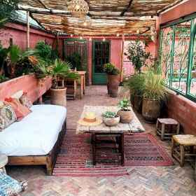 60 awesome eclectic backyard ideas (56)
